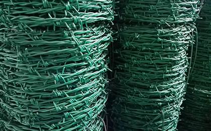 PE PVC包塑刺绳