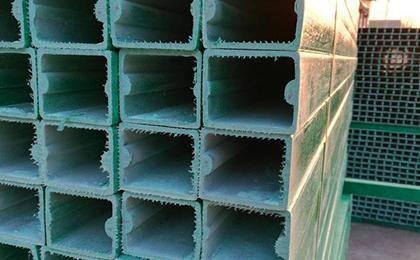 空心玻璃钢刺丝立柱
