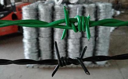 PE PVC包塑刺铁丝